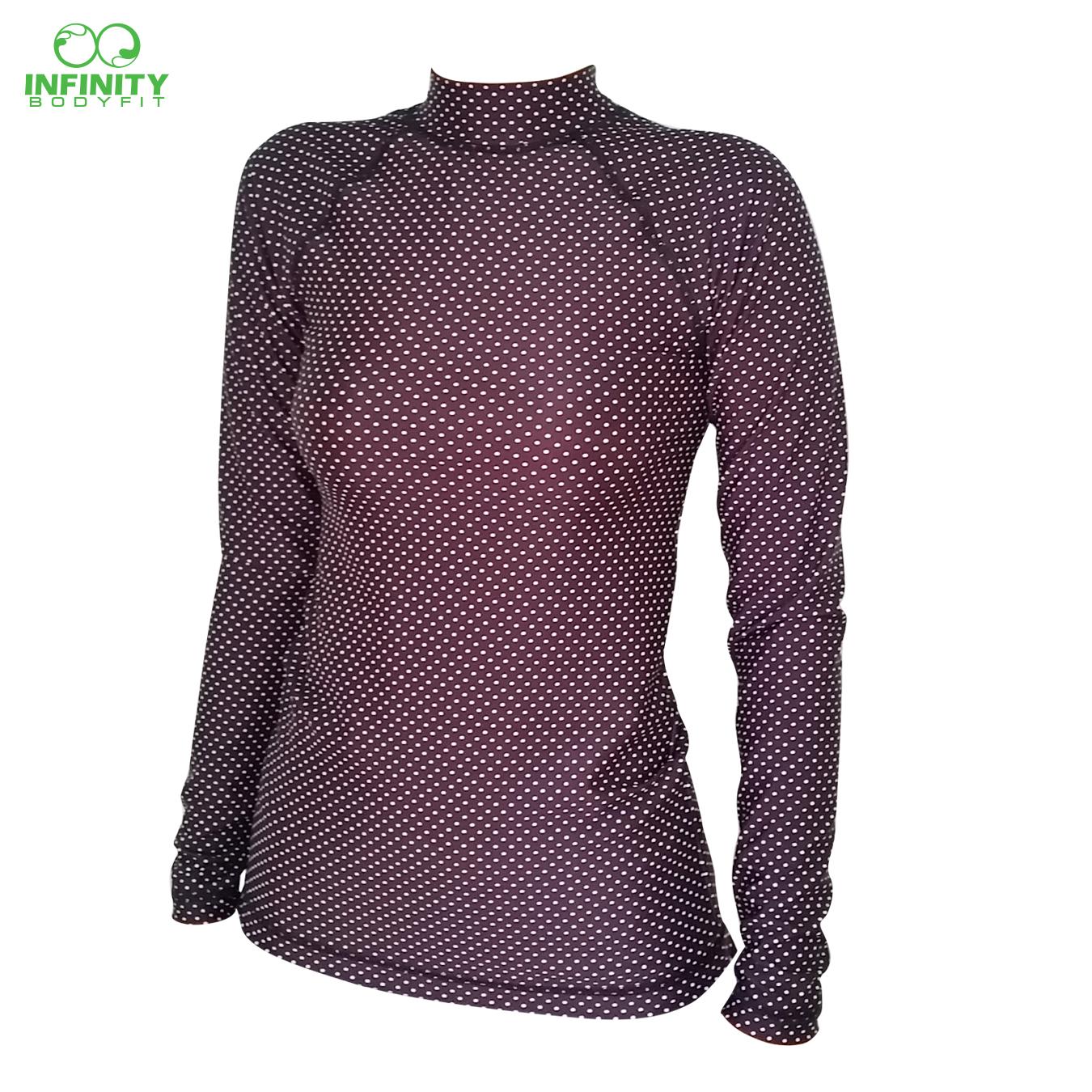 base layer ลาย pattern mini polka dot
