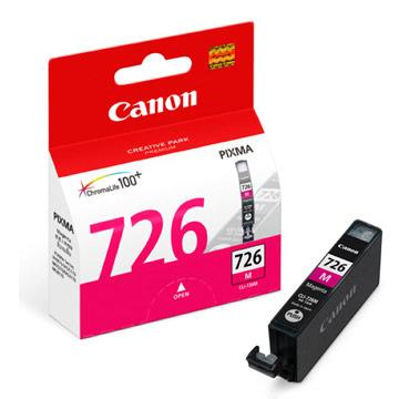 Canon CLI-726M ตลับหมึกอิงค์เจ็ท สีม่วงแดง Magenta Original Ink