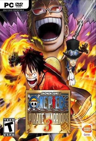 One Piece Pirate Warriors 3 ( 3 DVD )