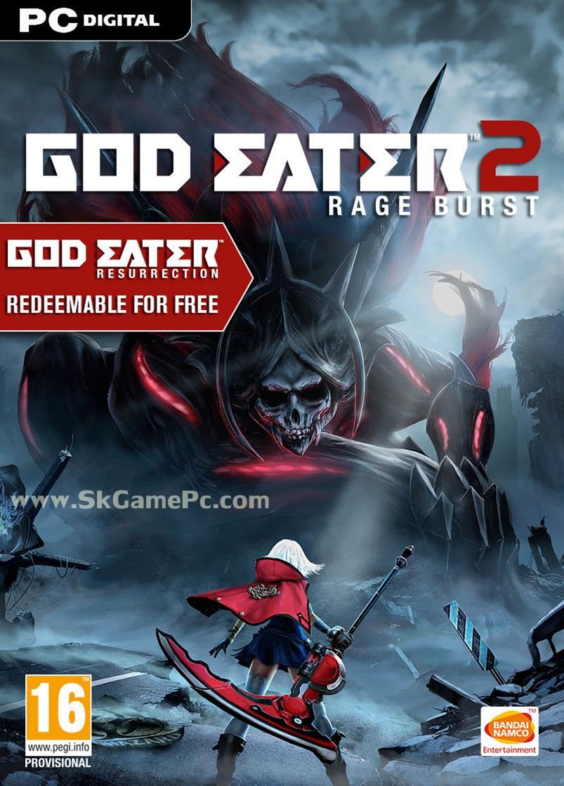 God Eater 2 Rage Burst ( 3 DVD )