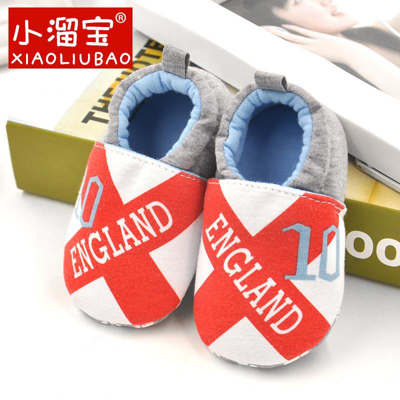 รองเท้าเด็กอ่อน 0-12เดือน รองเท้าเด็กชาย เด็กหญิง สีขาวกากบาทสีแดง