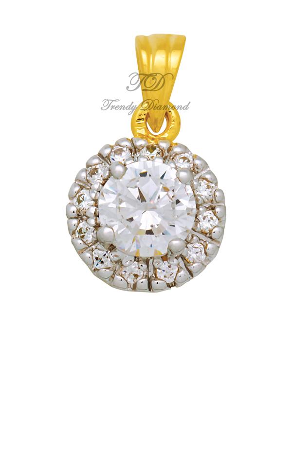 จี้เพชร จี้เพชร Tiffany สีทอง