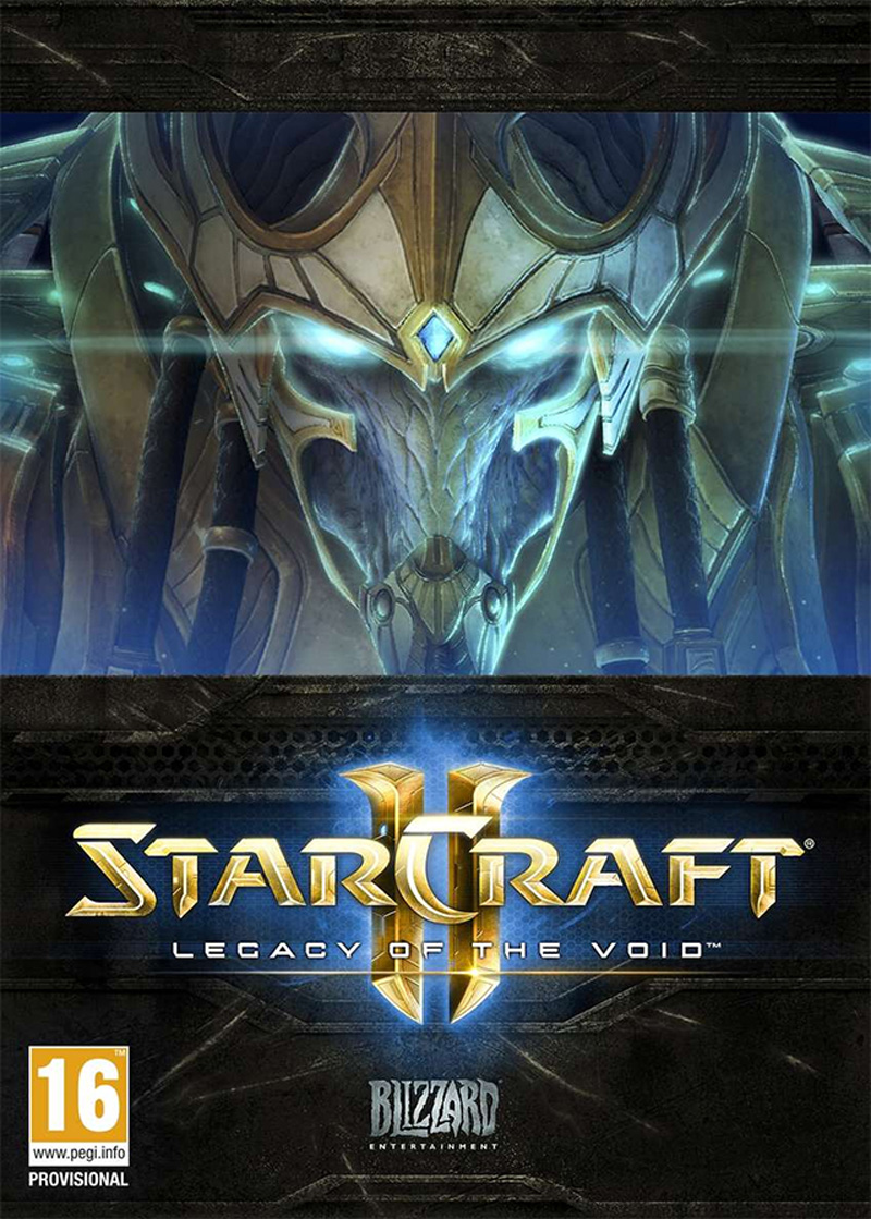 Starcraft 2 Legacy of the Void ( 5 DVD )