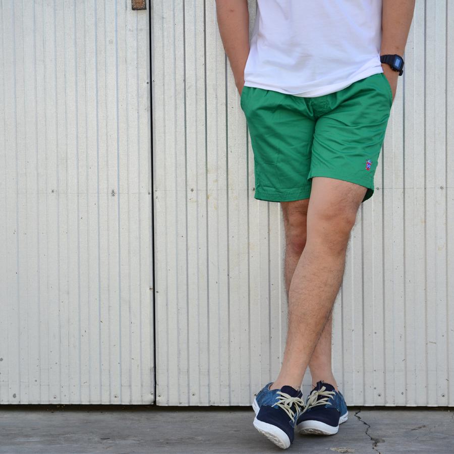 กางเกงขาสั้น BFactory (สีเขียว)