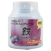 Orihiro MOST chewable iron อาหารเสริมเม็ดอมธาตุเหล็กผสมผสานวิตามินบี6,12 บำรุงเลือดป้องกันและรักษาภาวะโลหิตจางจากการขาดธาตุเหล็กทำให้สีผิวพรรณดูเรียบเนียนป้องกันอาการอ่อนเพลียของร่างกายช่วยเสริมสร้างความแข็งของกระดูกและช่วยป้องกันการเกิดโรคกระดูกพรุนได้ทำ