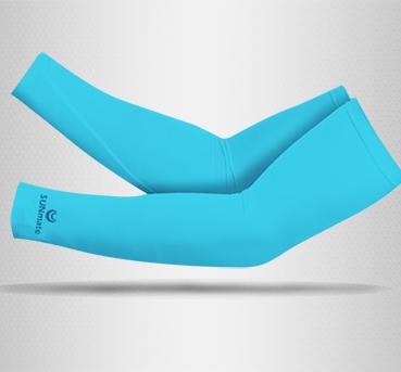 ปลอกแขนกัน UV size XL : Placid blue