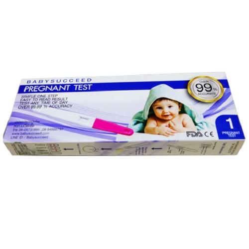 ที่ตรวจครรภ์ ตรวจล่วงหน้าได้ 5 วัน แม่นยำ99%