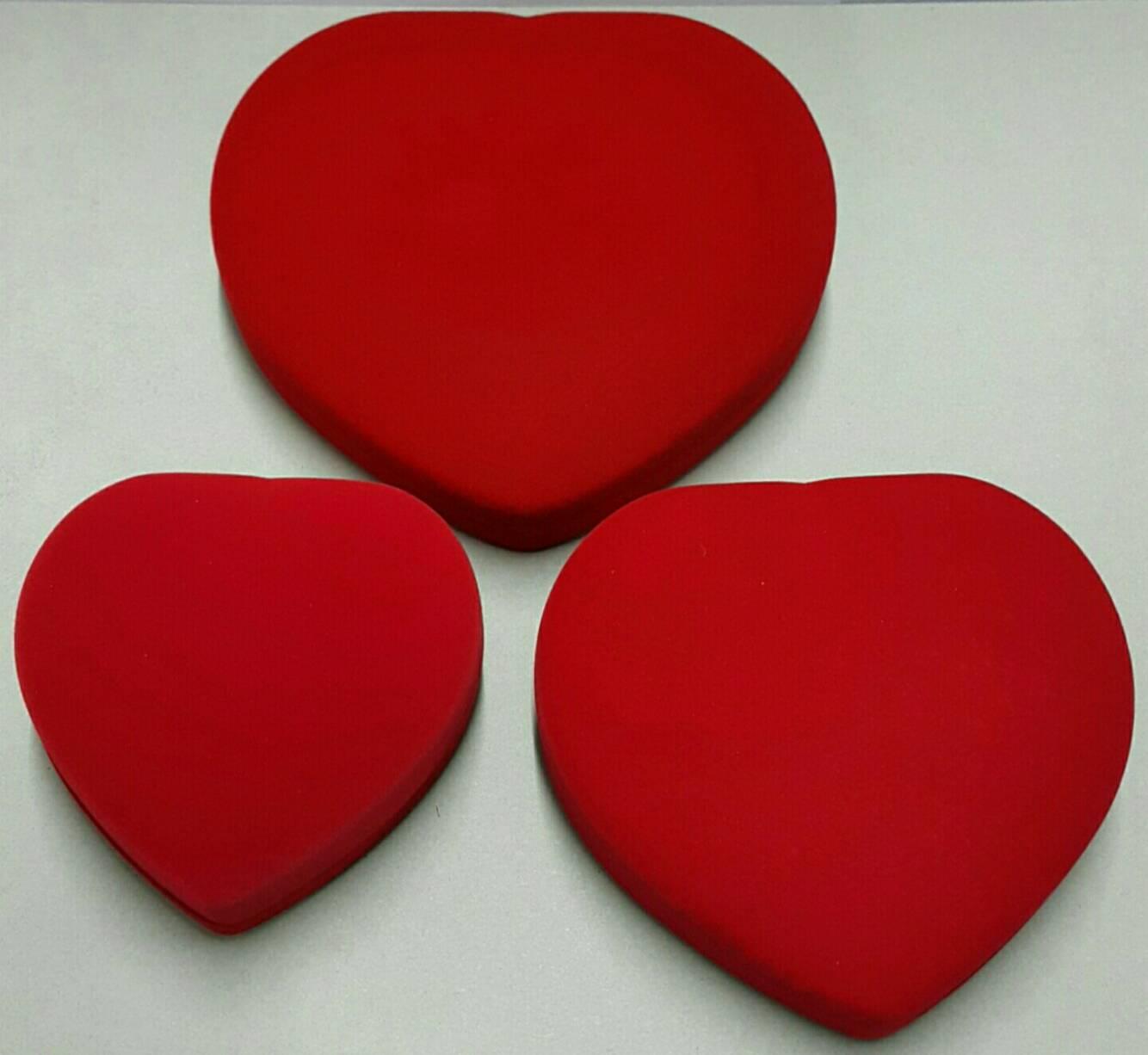 กล่องใส่สร้อย ใส่ชุดสังวาล รูปหัวใจ