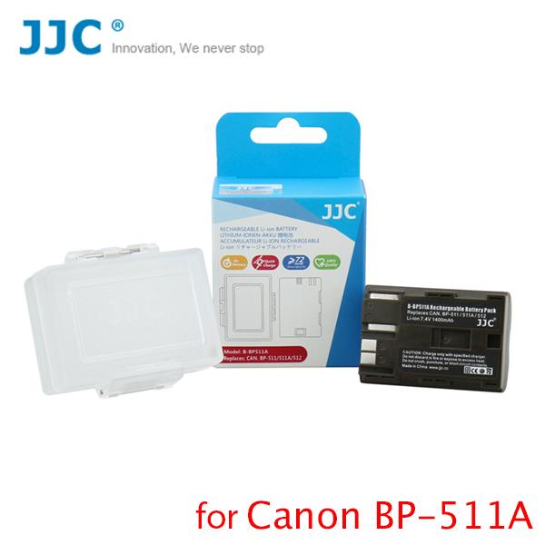 Battery JJC for BP-511A for 30D/40D/5D BG-E2
