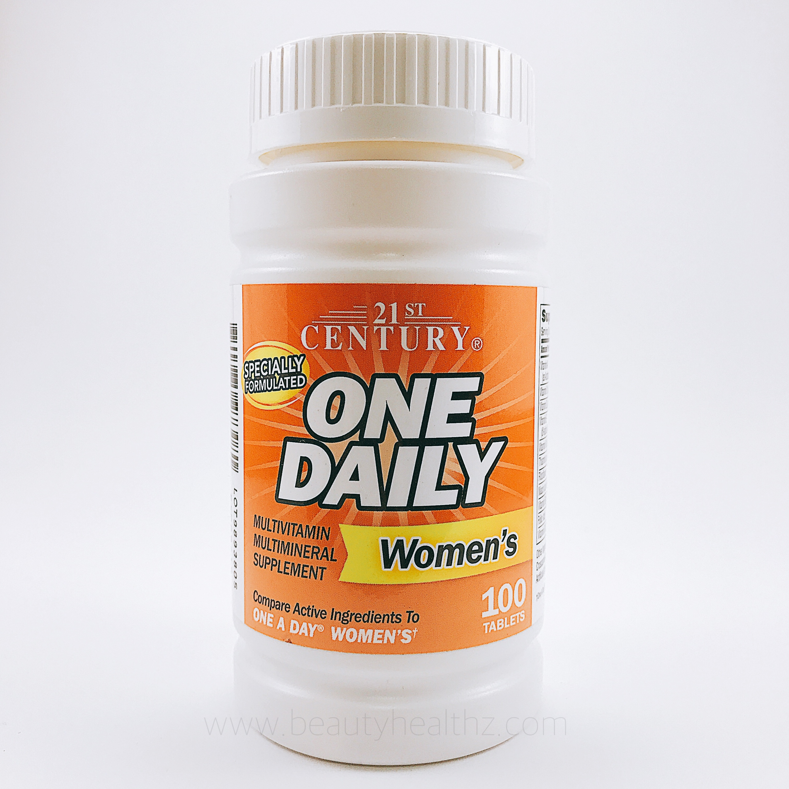 21st Century Health Care, One Daily, Women's, 100 Tablets