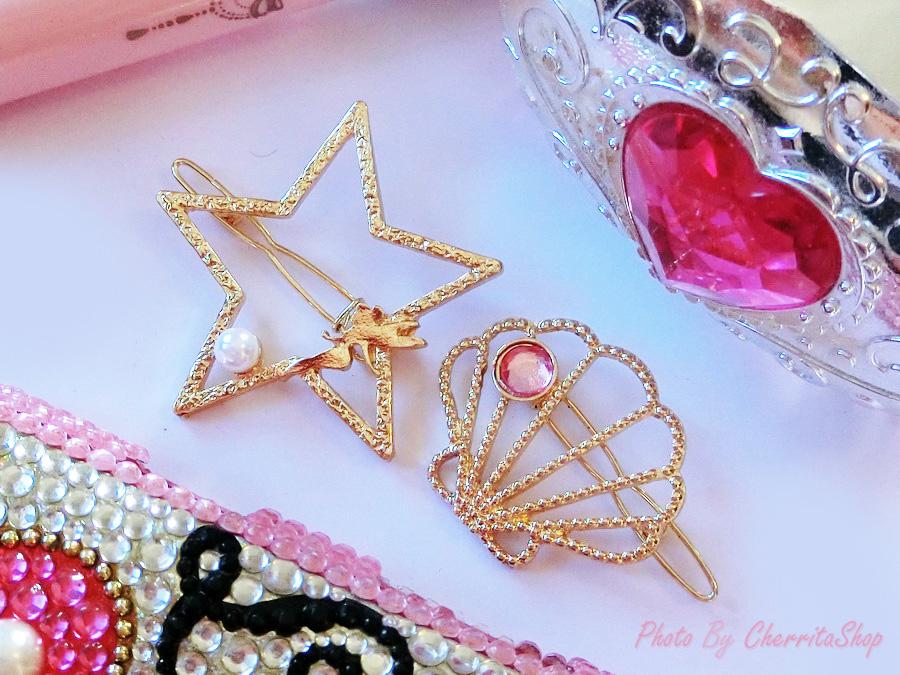 เลือกลายด้านในค่ะ กิ๊บ Fairy tale JP Style HR30114