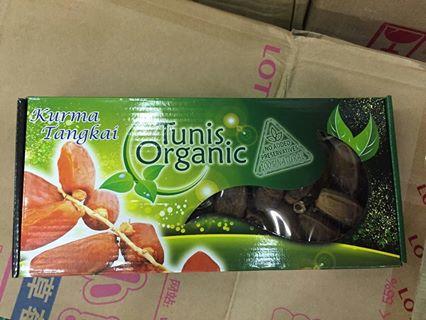 อินทผาลัม 500 กรัม Tunis Organic จำนวน 5 ลัง