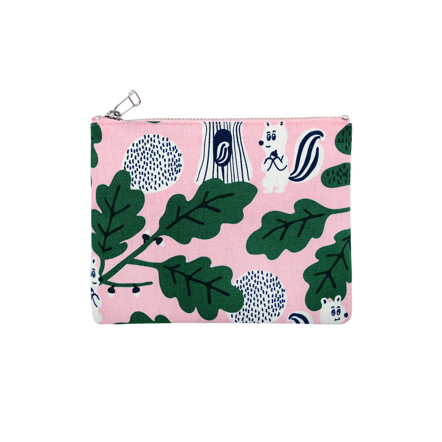 JEAN PAUL IN FOREST PINK COATED POUCH M V2