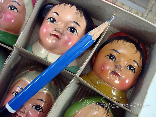 ตุ๊กตาเหลาดินสอเป็นชุด