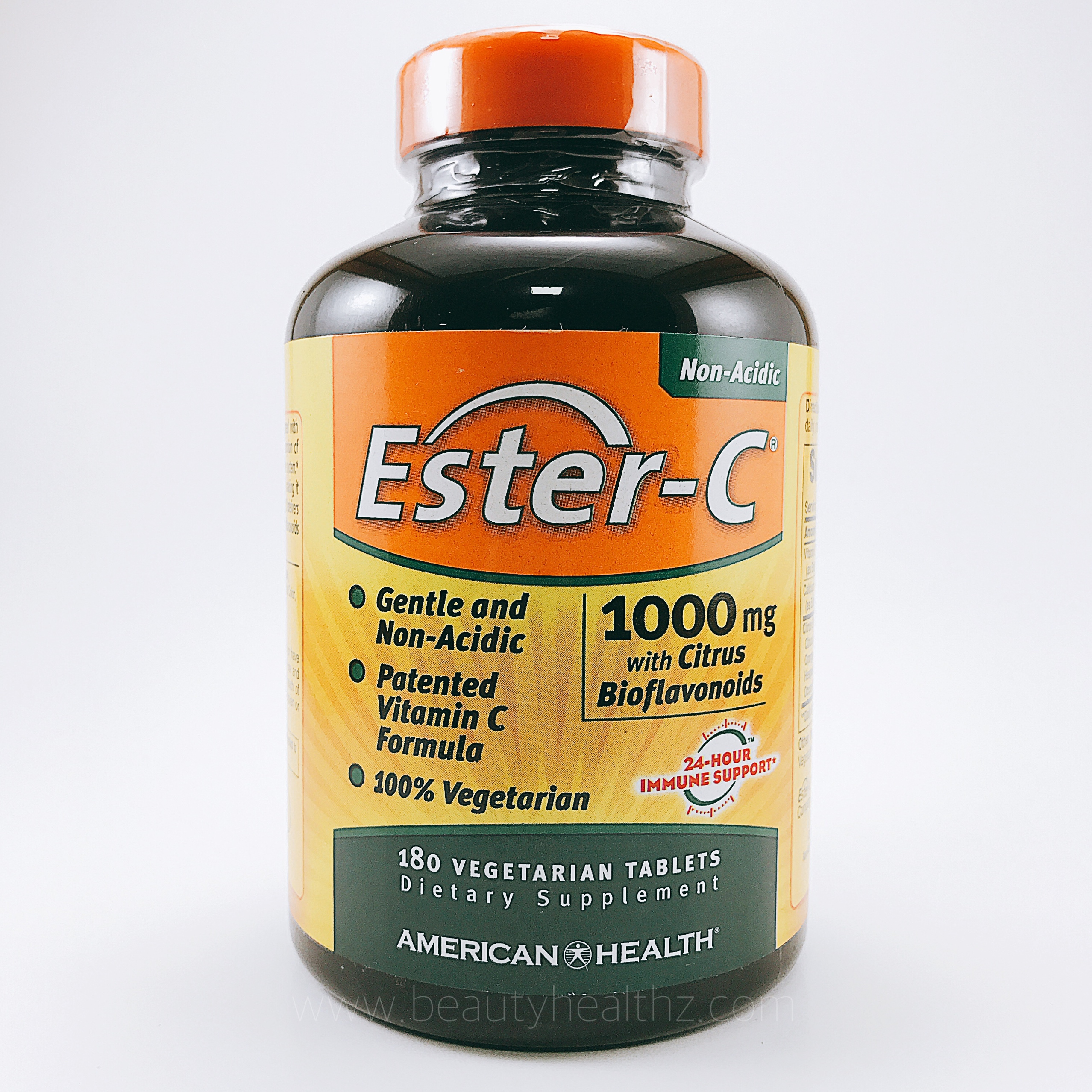 American Health, Ester-C, 1000 mg with Citrus Bioflavonoids, 180 Veggie Tabs