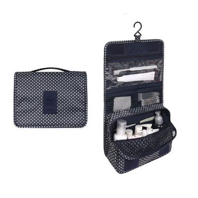 (สีกรมท่า) กระเป๋าสะพายกันน้ำพกพาพับเก็บได้ ขนาด 24 x 19 CM