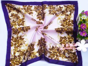 ผ้าพันคอผ้าซาติน Old Style