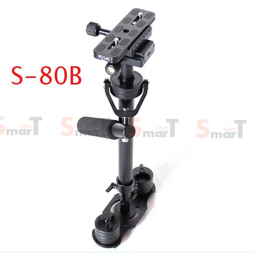 S-80 Black Handheld Stabilizer 0.5-7KG Flycam Steadycam Steadicam Video Camera