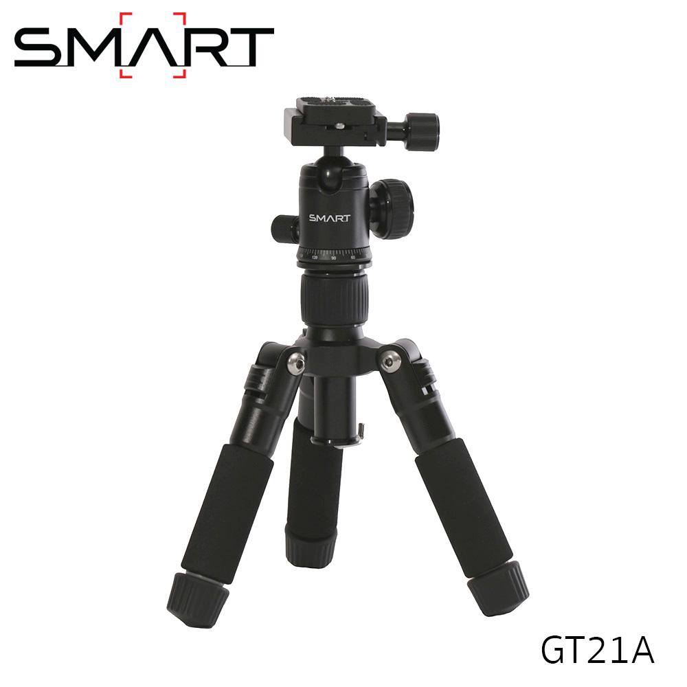 SMART GT21A Portable Table Aluminum Mini Tripod with Ball Head