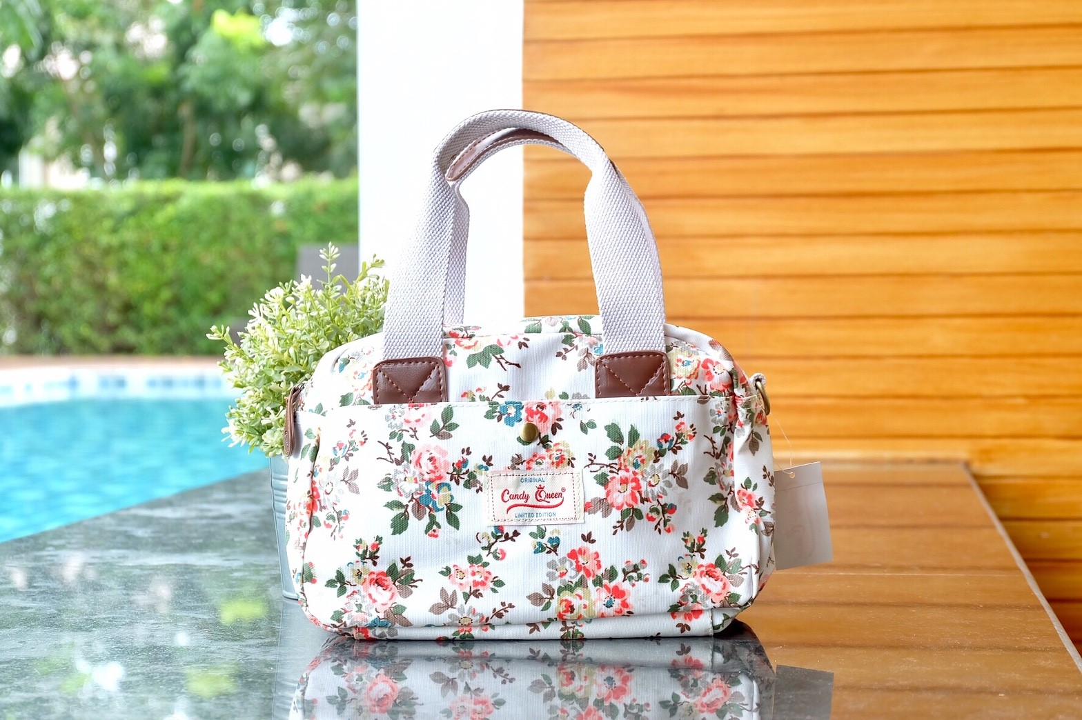 กระเป๋า CandyQueen + สะพาย 2 ซิป