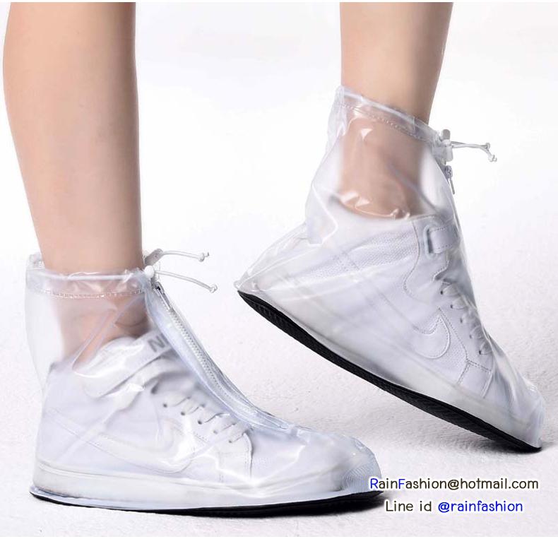 ปลอกสวมรองเท้า กันเปียก กันเปื้อน กันน้ำ (M)