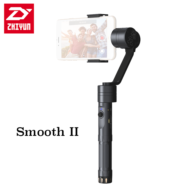 Zhiyun NEW Z1-Smooth II 3-axis Smartphone Brushless Stabilizer Gimbal with Bluetooth Wireless Controller for iPhone 5/ 5s/ 6 /6 Plus, Galaxy Note