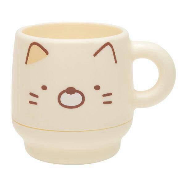 แก้วน้ำ 2 ชั้น Sumikko Gurashi (แมว)