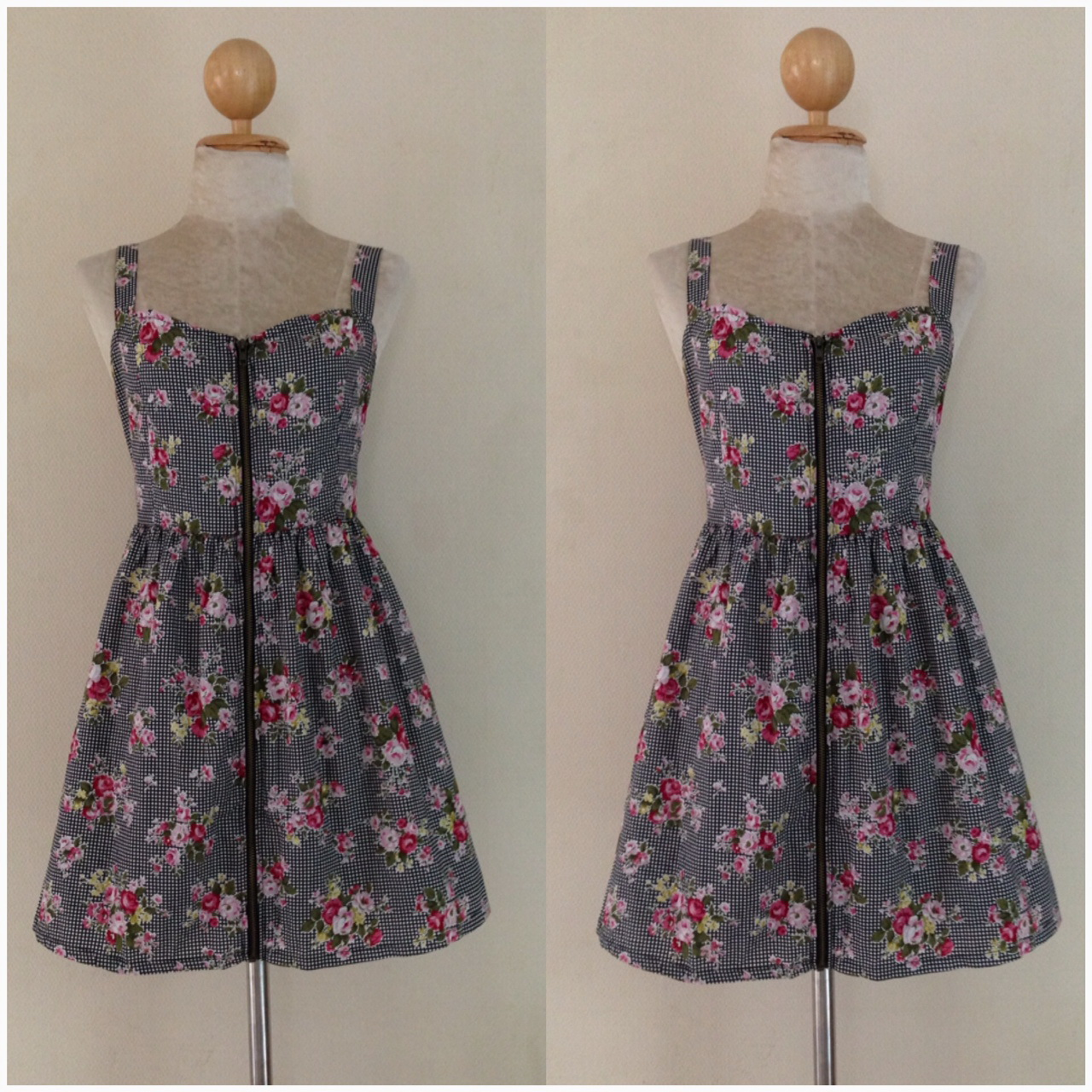 YUMI Floral Dress Uk10