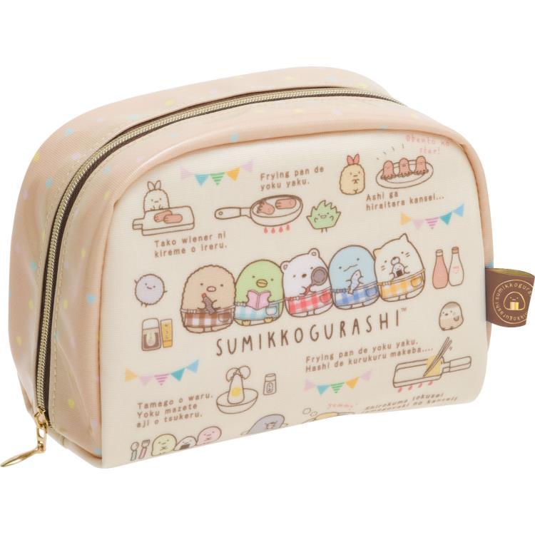 กระเป๋าใส่ของ Sumikko Gurashi สีน้ำตาล